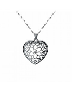Hot Diamonds Sterling Silver 'Levanter' Pendant DP314